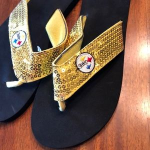 🌟 Steelers Flip-flops!!